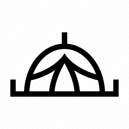 camp, camping, forest, tent, woods icon