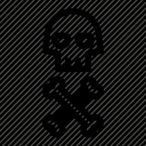 caution, danger, danger symbol, dangerous, dead icon