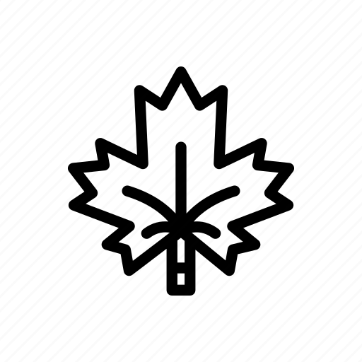 canada, eco, forest, leaf, maple, nature, tree icon