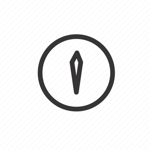 camping, clock, compass, navigation, navigator, travel, watch icon