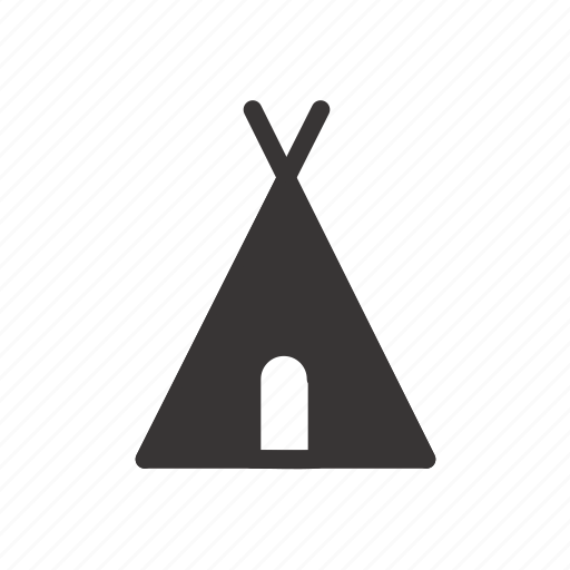 bonfire, camp, camping, outdoor, scout, tent icon