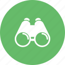 binoculars, cloud, large, river, searching, sky, telescope icon