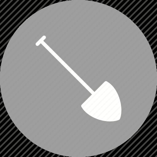 equipment, hand, shovel, spade, tool, wood, work icon