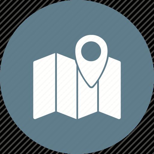 address, find, gprs, locator, map, navigator, pointer icon