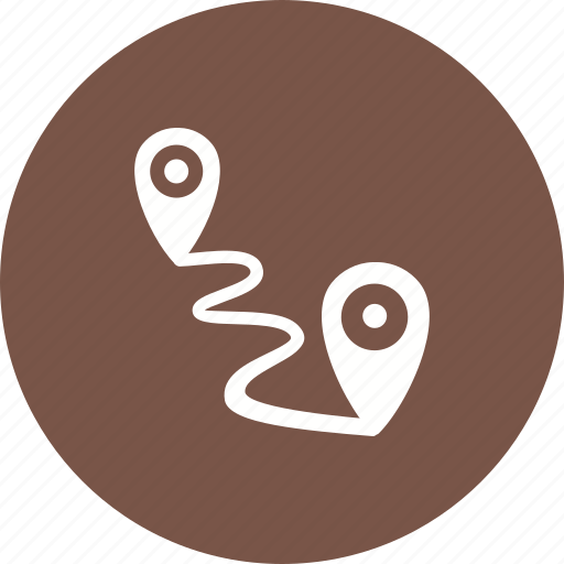 adventure, distance, nature, road, running, sky, travel icon