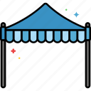 canopy, cover, marquee, shade icon