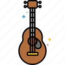 acoustic, guitar, instrument, music icon