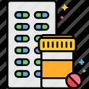 medication, prescription, bottle, meds, pills