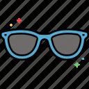 sunglasses, protection, shades, summer, sun icon