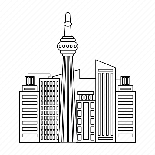Architecture, building, canada, city, house, skyscraper icon - Download on Iconfinder