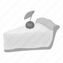 berry, cake, cherry, dessert, food, pie, piece icon