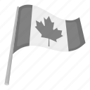canada, country, flag, leaf, maple, national