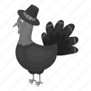 day, farm, hat, homemade, poultry, thanksgiving, turkey icon