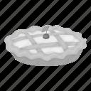 cranberry, day, dessert, food, pie, thanksgiving, treat icon