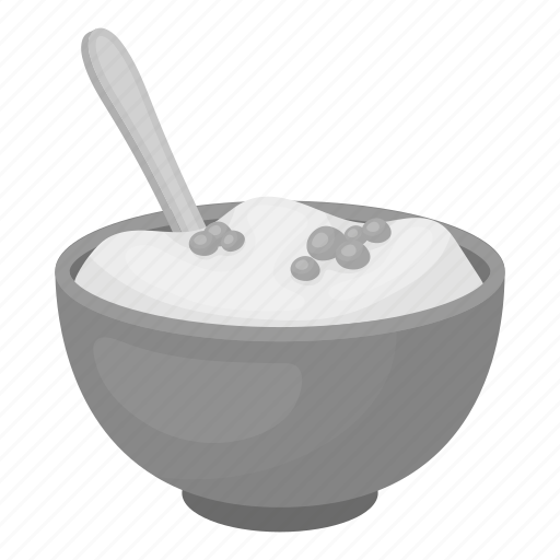 bowl, food, porridge, pumpkin, spoon, thanksgiving, tradition icon