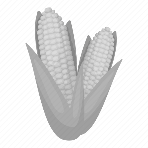 cob, corn, food, maize, popcorn, vegetable icon