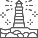 building, canada, landmark, lighthouse, tourism, victoria icon
