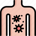 body, cancer, health, human, virus icon