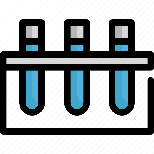 chemistry, healthcare, lab, laboratory, medical, science, tube icon