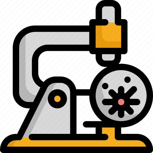 bacteria, bacterial, cancer, microscope, science, virus icon