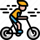 bicycle, bike, cycling, exercise, health, medical icon