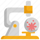 bacteria, bacterial, cancer, chemistry, laboratory, microscope, science icon