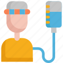 cancer, chemo, chemotherapy, healthcare, medical, patient, virus icon