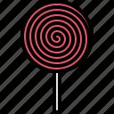candy, food, lollipop, shop, stick, sweet, sweetness