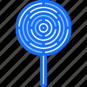 candy, food, lollipop, shop, stick, sweet, sweetness icon