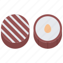 candy, chocolate, food, nut, shop, sweet, sweetness icon