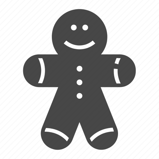 Christmas, gingerbread, gingerbread man, man icon - Download on Iconfinder