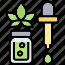 cbd, oil, extract, medicinal, herbal