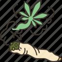 weed, smoke, addiction, marijuana, cigarette