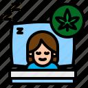health, insomnia, medical, rest, wellness icon