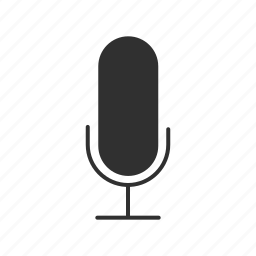 announcer mic, audio mic, microphone, voice recorder icon