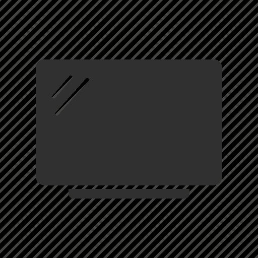 computer, monitor, screen, tv screen icon