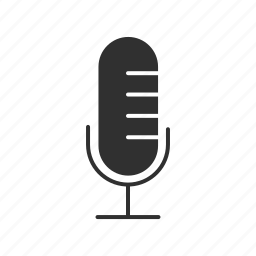 announcer mic, audio mic, microphone, recording icon