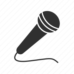 announcer mic, audio mic, microphone, recording icon