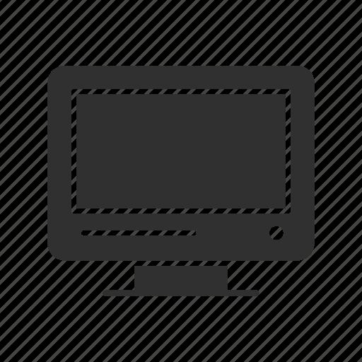 computer, mac, monitor, tv screen icon