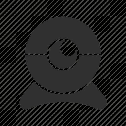 cam, camera, cctv, web cam icon