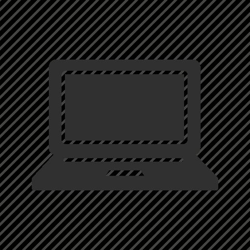 internet, laptop, laptop screen, mac book icon