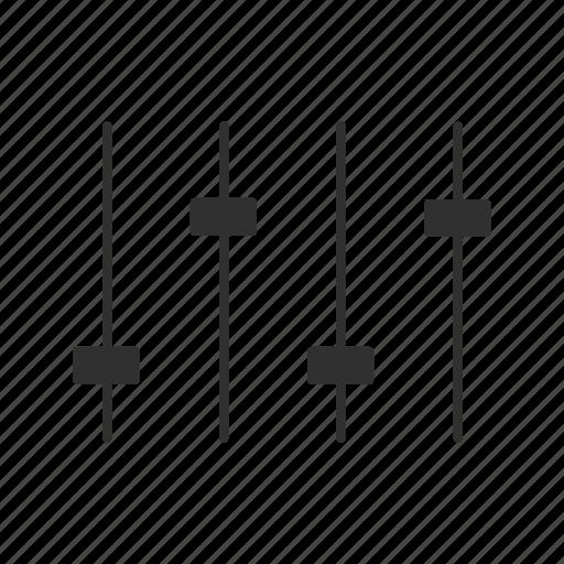 audio, audio board, audio switchboard, mix board icon