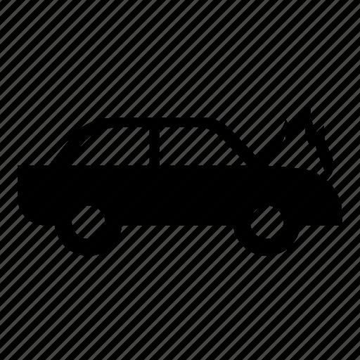car, car crash, car fire, dangerous, insurance, insurance car, traffic accident icon