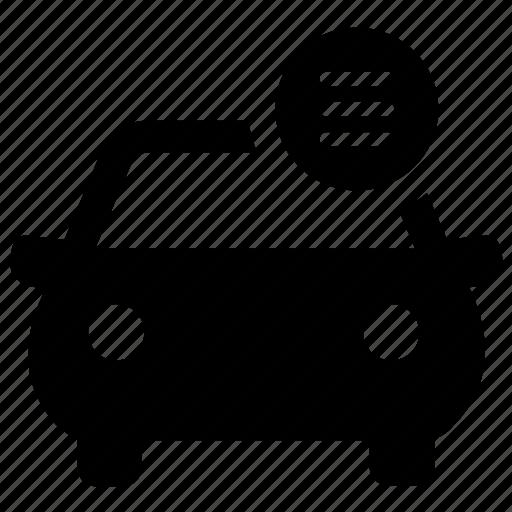 car, details, gear, manual, menu, options, tools icon