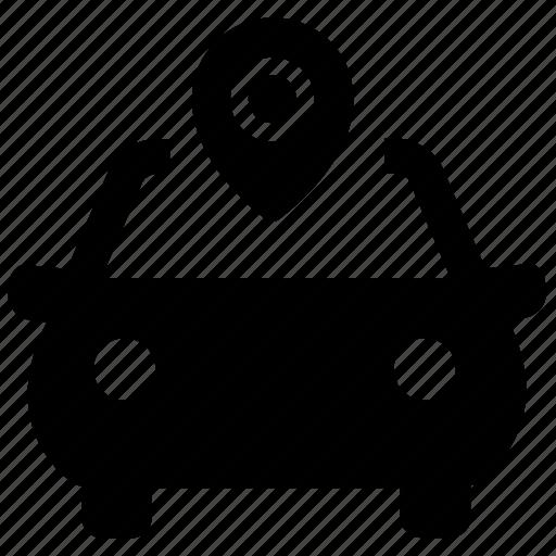 car, destination, gps, location, map, marker, pin icon