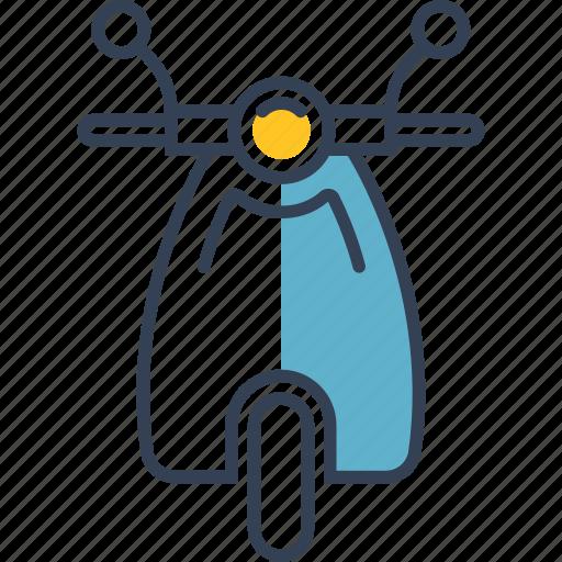 bike, car, transport icon