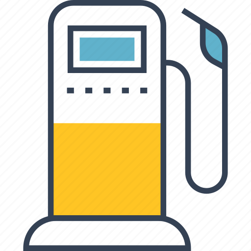 car, filling, transport icon