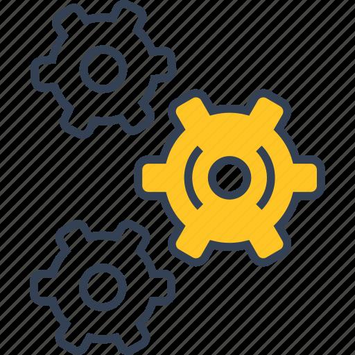 Car, hexahedron, repair icon