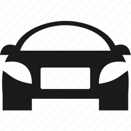 car, headlight, traffic, transport, wheel icon