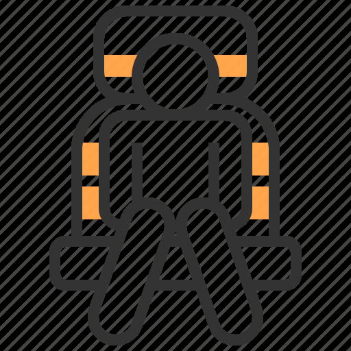 accessories, automobile, car, seat, service icon